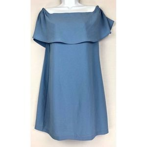 Charles Henry Off Shoulder Dress S